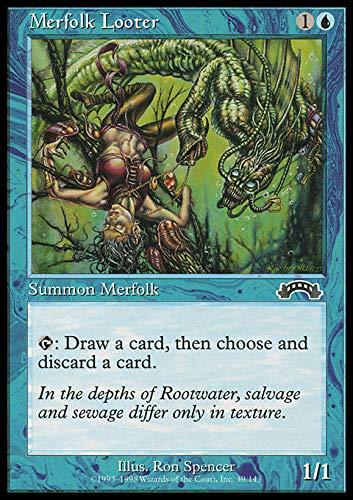 Magic: the Gathering - Merfolk Looter - Exodus