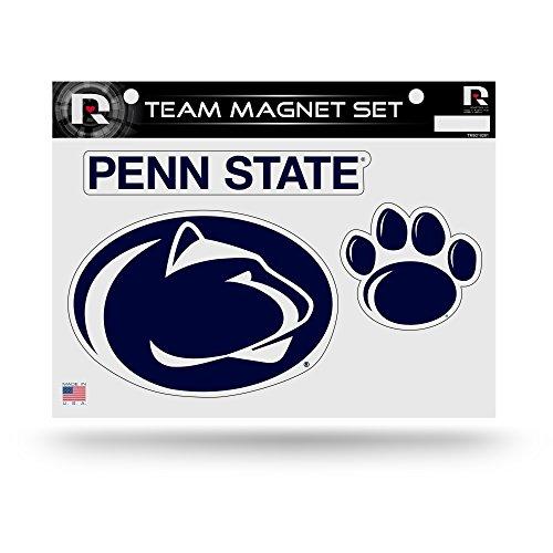 Rico Industries NCAA Penn State Nittany Lions Die Cut Team Magnet Set Sheet, 8.5 x 11-