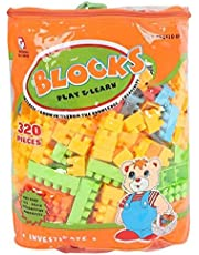 Alhabbary Blocks 320 Pieces for Kids