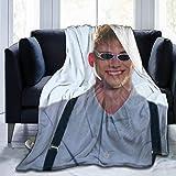 maichengxuan Manta de sofá supersuave Corbyn Besson de microforro polar, adecuada para mantas de sofá para adultos y niños, mantas de cama de 80 pulgadas x 60 pulgadas