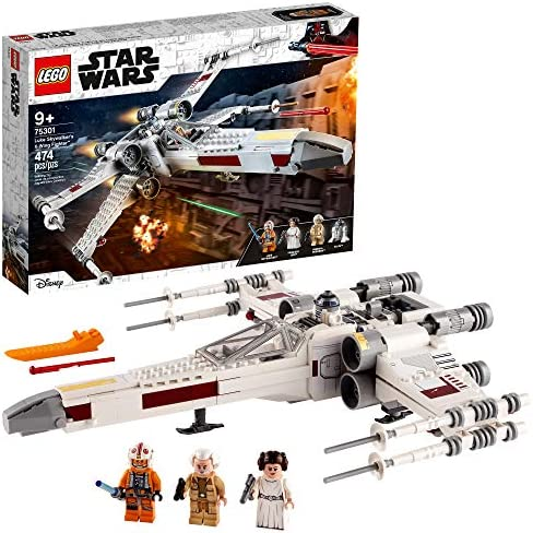 LEGO Star Wars Luke Skywalker s X Wing Fighter 75301 Awesome Toy Building Kit for Kids New 2021 product image