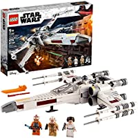 LEGO Star Wars Luke Skywalker's X-Wing Fighter 75301 Awesome Toy Building Kit (474 Pieces)