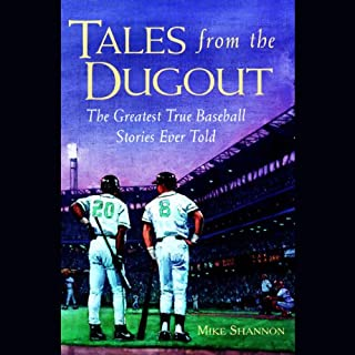 Tales from the Dugout audiobook cover art