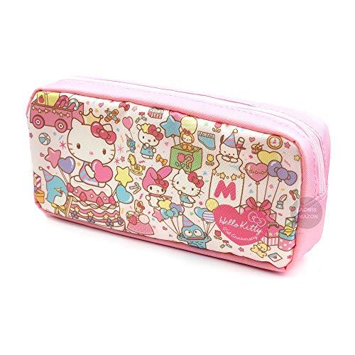 Sanrio Nylon Pencil Case,Coin Pouch,Cosmetic Bag (Sanrio Characters [ S1418181 ])