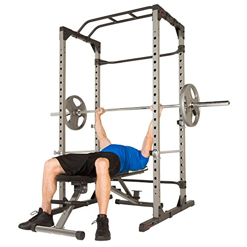 Product Image 5: Fitness Reality 810XLT Super Max Power Cage | Optional Lat Pull-down Attachment and Adjustable Leg Hold-down | Power Cage Only