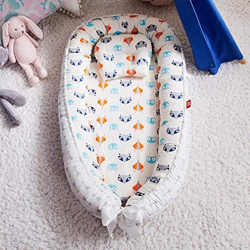 Draagbaar babynestbed met kussen Kussen Pasgeboren reisbed voor buitenbed Babybedje Nest,B1