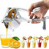 Bolditech Heavy Duty Aluminium Metal Manual Fruit Juicer Squeezer Premium Quality Lemon Orange...
