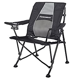 STRONGBACK Guru Folding Camp Chair with Lumbar Support