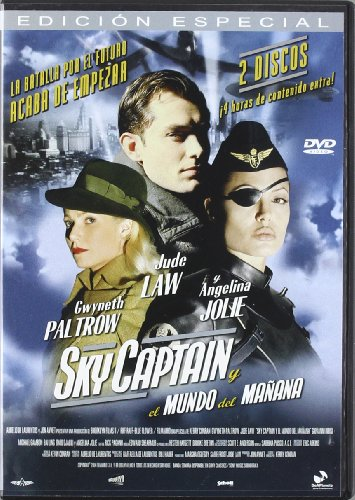 Sky Captain Y El Mundo Del (Ed.Esp.) (Import Dvd) (2005) Gwyneth Paltrow;