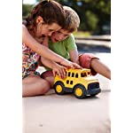 Green Toys School Bus in Action
