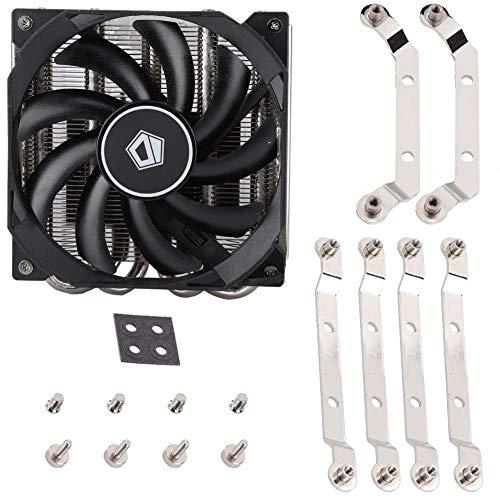 CXCF El Ventilador Silencioso Inteligente del Radiador De La CPU IS-30 Admite El Enfriador De CPU Multiplataforma AM4 - Negro