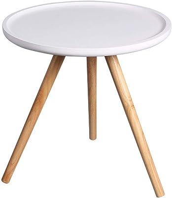 ホーム&厳選家具/コーヒーエンドテーブルリビングルームバルコニーホームとOffice 48 * 47センチメートルのための近代的な家具のインテリアラウンドサイドテーブル