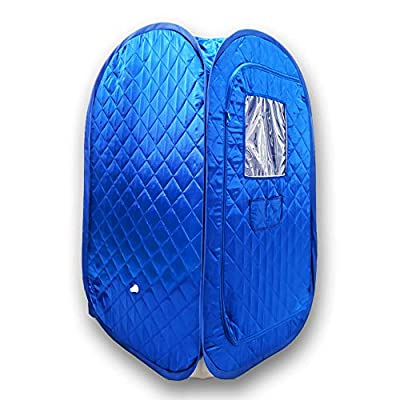 Portable Sauna Tent, Foldable One Person Full Body Spa for Weight Loss Detox Therapy Without Steamer