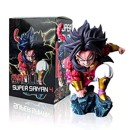 LXYY 12Cm Dragon Ball Super Broly Figura Dragon Ball Z Super Saiyan Goku Figura De Acción PVC Modelo De Juguete