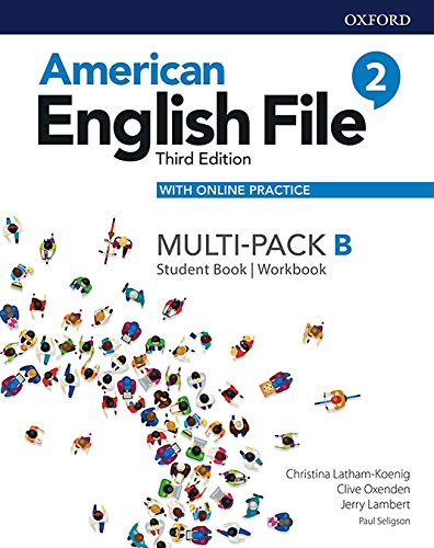 American English File: Level 2: Student Book/Workbook Multi-Pack B with Online Practice