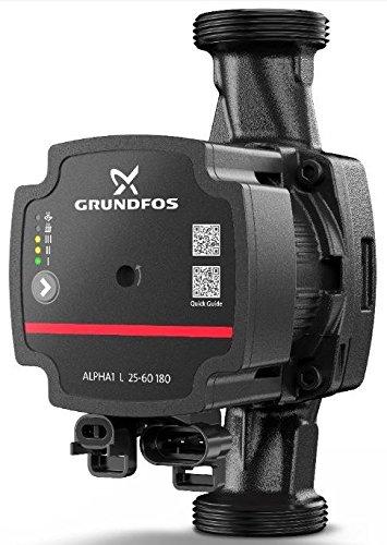 Grundfos Alpha 1 L 25-60 180mm Umwälzpumpe Heizungspumpe Zirkulation - Fibo24