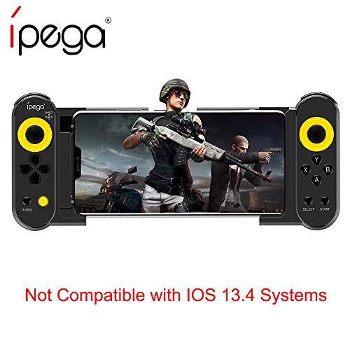 ipega PG-9167 Mobile Game Controller, With Stretchable Wireless 4.0 Gamepad Joystick Supports iOS/Android Smart Phone Tablet PC (Plug and Play)
