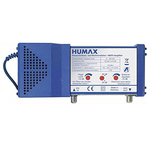 HUMAX Digital HNV 30 Hausanschlussverstärker, Pegelsteller, Kabelfernsehen, 20/30 dB