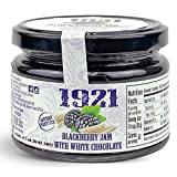 Spanish BLACKBERRY JAM & WHITE CHOCOLATE 9.52oz | Perfect With Pancakes, Waffles, Cheeses, Ice Cream...