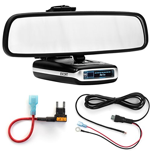 Learn More About Radar Mount Mirror Mount Bracket + Direct Wire Power Cord + Mini Fuse Tap Escort Ma...