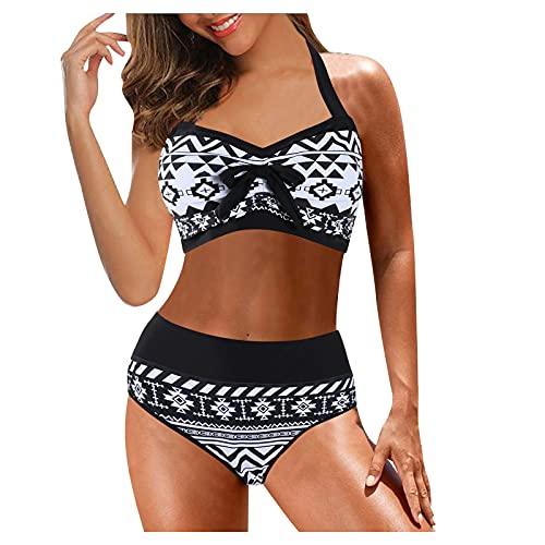 CPNG Badpak voor dames, grote maten, print, split, bikiniset, badmode, badpak, beachwear, digitaal