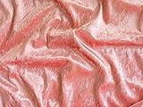 ab 1m: Pannesamt, rosa, Spitzenqualität, 150cm breit