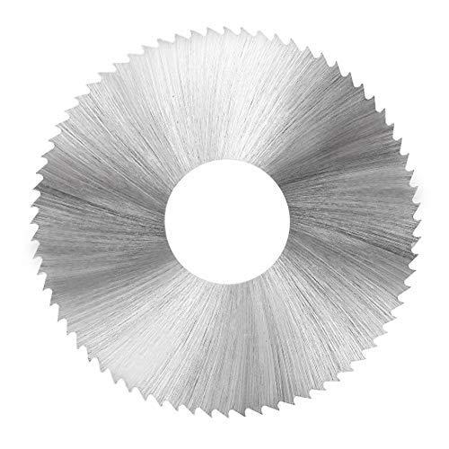 HSS Sägeblatt Kreissägeblatt 50 mm 72 Zähne 0,3 mm Stärke mit 16 mm Welle