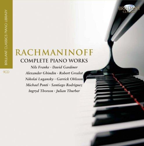 Rachmaninoff:Complete Piano Works - Brilliant Classic Piano Library