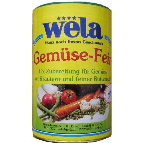 Wela Gemüse-Fein Dose 72 Port. - 610g