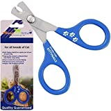 Simply Pets Online Cat Nail Clippers - Designed by Veterinarians - Pet Nail Cutter for Rabbits, Guinea Pigs and Ferrets
