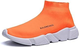 ADFD Calcetín transpirable para correr para hombres y mujeres, zapatos deportivos informales, suela acolchada ligera, adec...