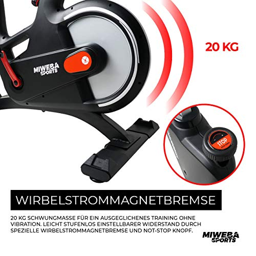Ergometer Heimtrainer Fahrrad + App-Steuerung Bild 6*