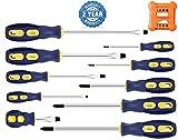 Precision-Magnetic-Screwdriver-Tool-Set-Phillips-Flat-Head Tips Screw Driver Craftsman Small Flathead Non-Slip For Repair Home Craft Improvement