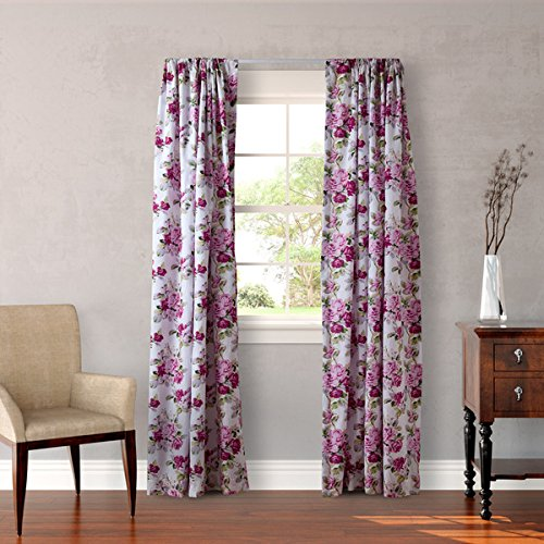 Laura- Ashley Lined Curtains Panel Lidia 4-Piece Set