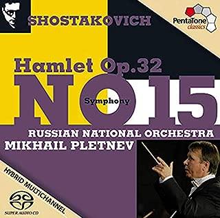 shostakovich hamlet op 32