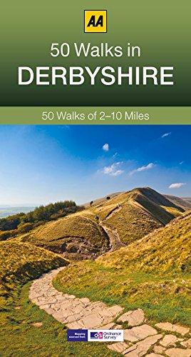 50 Walks in Derbyshire (AA 50 Walks Series)