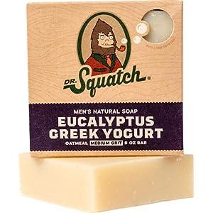 Exfoliating Soap for Men with Oatmeal Scrub – Eucalyptus Greek Yogurt – Man's Delight with Moisturizing Yogurt and… 8