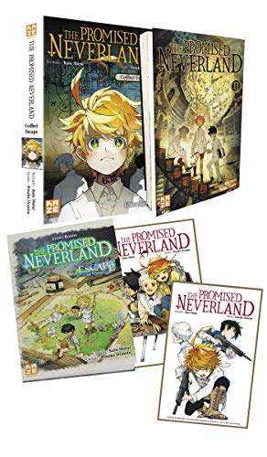 The Promised Neverland Coffret Escape Tome 13 One-shot