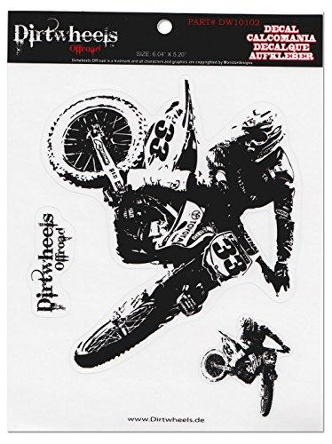 Dirt Gear Motocross Aufkleber Quad ATV MX Sticker 102