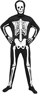 luminous skeleton costume