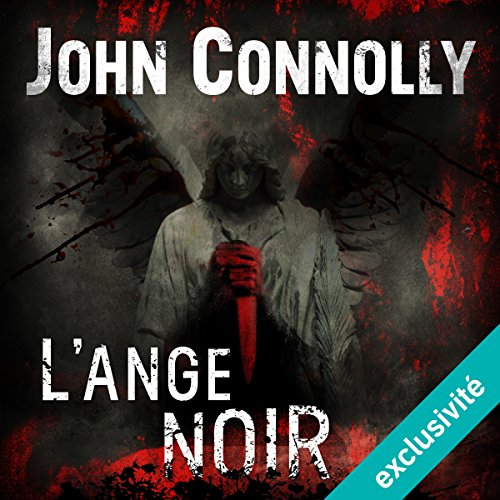 L'Ange noir audiobook cover art