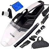 Byrhgood Vacuum Cleaner Coche Coche portátil Mini Aspirador Aspirador for el Coche Aspirateur 5 kPa Potente Vacío Limpiadores Auto (Color : Black)