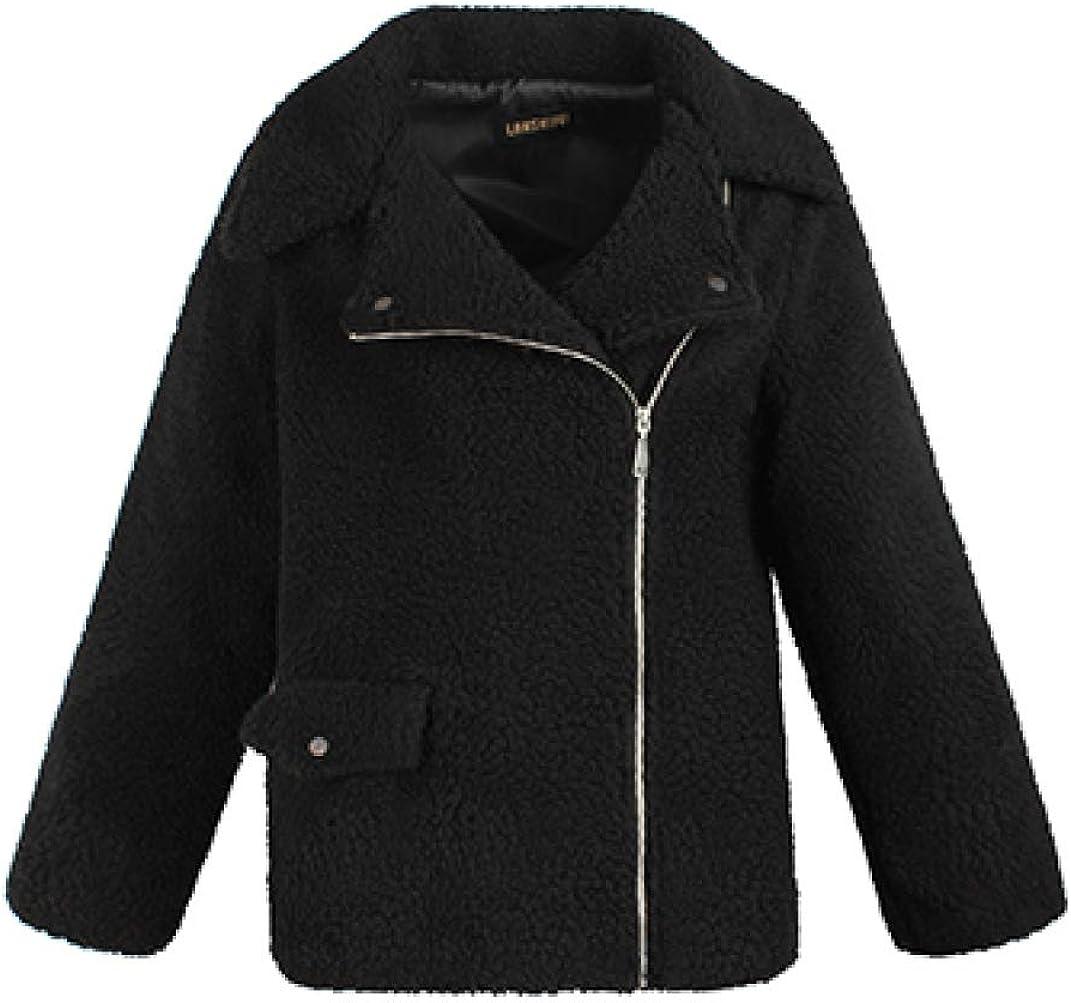 Women Zip Up Fleece Open Max 48% OFF Front Long Max 61% OFF Jacket Warm Cardigan Sleeve