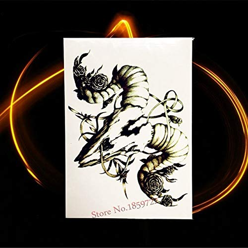 tzxdbh 5Pcs- 3D Cartoon Dragon wasserdichte Tattoo Aufkleber HQS A061 Männer Mythos Dragon Ball Body Art Arm Ärmel Tattoo Armband-In...