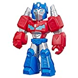Transformers Optimus Prime Mega Mighties 10' Action Figure, Toys for Kids Ages 3 & Up