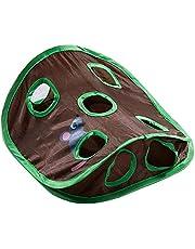 Huisdier Interactief Speelgoed, Kat Mat Met Gaten, Kat Tunnel Met Gaten 9 Holes Tunnel Toy Cat Activity Speelmat Opvouwbaar