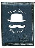Syl'la portfle-monsieurparfait - Cartera para hombre Negro Monsieur Parfait 0