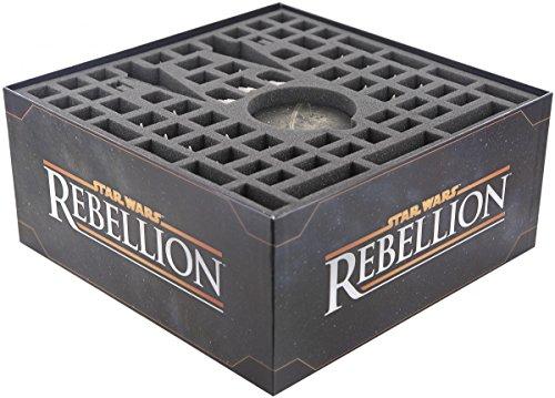 Feldherr Schaumstoff-Set kompatibel mit Star Wars Rebellion Brettspielbox