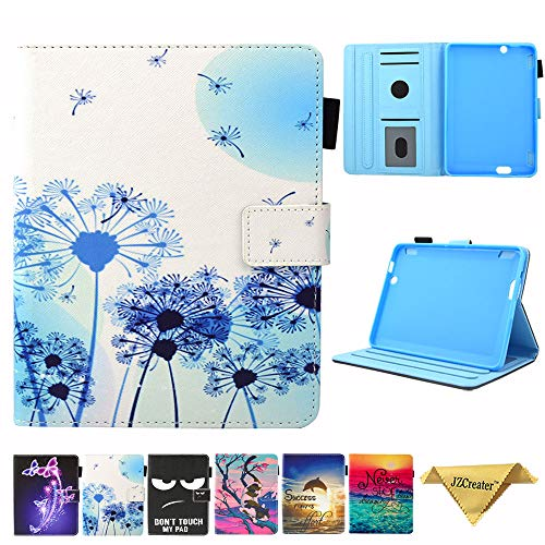 Folio Case for Fire HDX 7 2013 Old Model- JZCreater Slim Fit Leather Standing Protective Cover with Auto Sleep/Wake for Amazon Kindle Fire HDX 7.0...