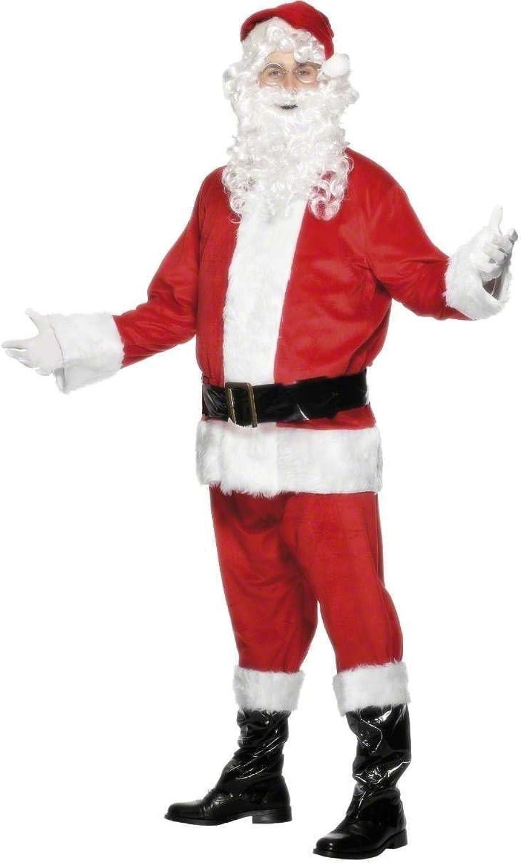 venta al por mayor barato Smiffy's Smiffy's Smiffy's Disfraz de Papá Noel Completo para Adulto L  El ultimo 2018